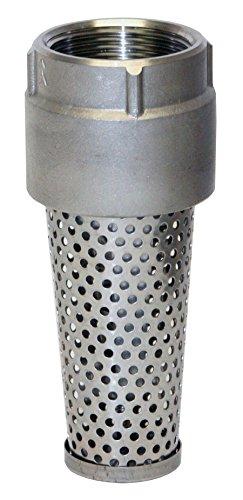 Merrill MFG FVS125 1100 Series Stainless Steel Foot Valve, Pipe Size 1-1/4