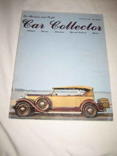 Car Collector V. 1 #11 Nov. 1978 1931 Packard 833 Phaeton for sale  Delivered anywhere in USA
