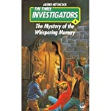 Front cover for the book The Mystery of the Whispering Mummy by Robert Arthur