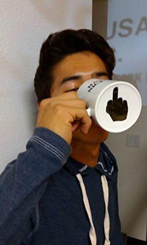 Coffee Mug Have A Nice Day Mugs Middle Finger Cute Mug