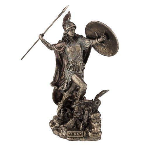 Veronese (ヴェロネーゼ) アテナ ギリシャ 戦士 戦争と知恵 神 ブロンズ風 フィギュア B0719KSPWJ