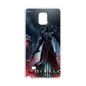 Samsung Galaxy Note 4 Cell Phone Case White Diablo 023 KI5858739
