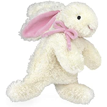 "North American Bear Loppy Bunny Plush Toy, Pink, 10"""
