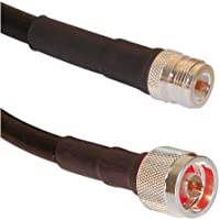 LMR400 N Male to N Female Jumpers - Times Microwave LMR-400 US Made Coax Cable (3 ft)