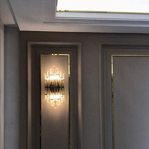 LED e14 Nordic Iron Crystal Designer LED lamp LED Light Wall lamp Wall lamp Wall lamp for bar Store Foyer Bedroom Warm_Light