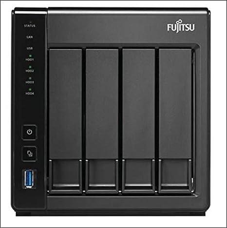 Fujitsu CELVIN NAS QE807 Ethernet Mini Tower Negro - Unidad Raid ...