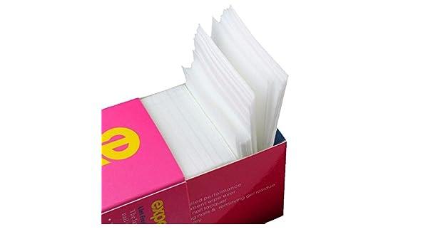 Nrpfell 325 piezas unas toallitas cojines de algodon gratis pelusa ...