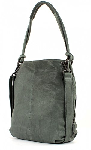 FredsBruder Shopper Pure S black petrol grey hRFvY6yla