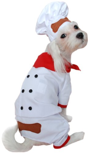 Anit Accessories Chef Dog Costume, 20-Inch