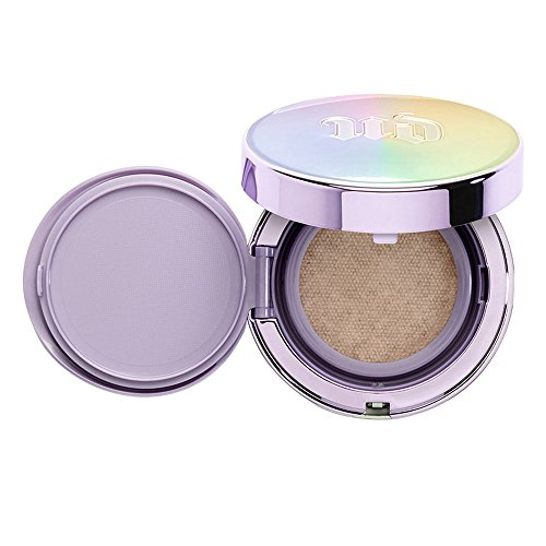 (URBANDECAY Naked Skin Glow Cushion Compact Foundation 13g SPF 50+ PA+++ (Cushion only, Light Pink Tone))