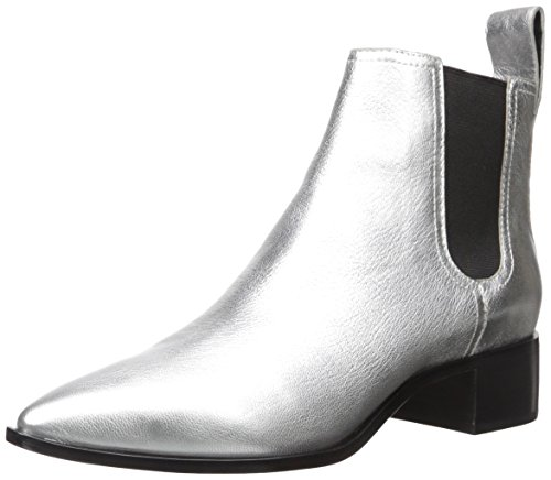 Bootie Ankle Randall Women's Loeffler Silver Nellie wFTUWqa