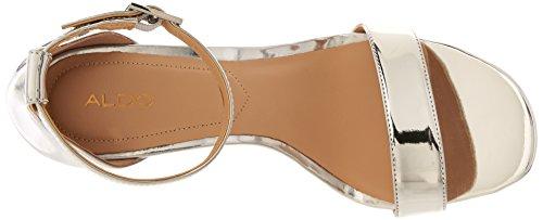 Silver FIGARRO Women's Sandal Heeled Aldo 5IYqx