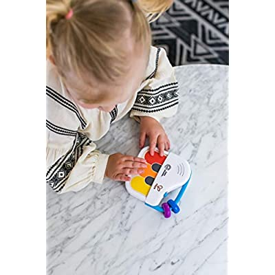 Baby Einstein Magic Touch Mini Piano Wooden Musical Toy, Ages 3 Months + : Baby