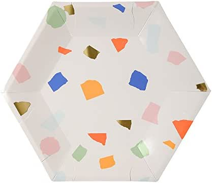 Disposable Tableware: Meri Meri Terrazzo