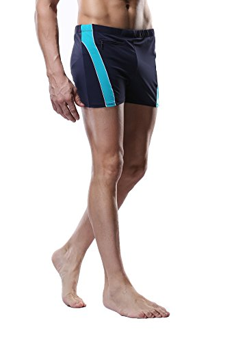 Charmleaks Men Swimming Trunks Low rise Shorts Swimsuit Trunks Swimming Briefs XXXL