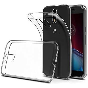 StormSell Funda Protectora Transparente Motorola Moto G4 Play Flexible Delgada Fácil de Colocar y retirar