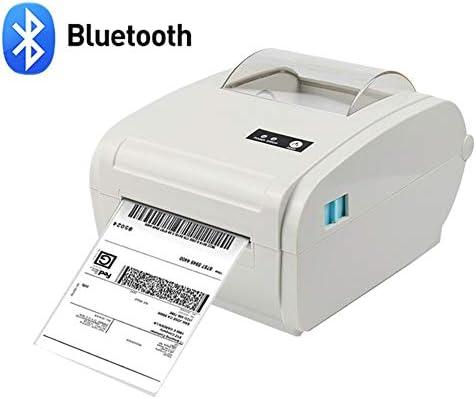 ZHAN Bluetooth Impresora, La Impresora Térmica De Código De Barras ...