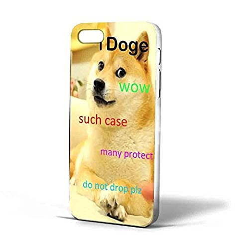 iDoge Shibe Doge protect Case (iPhone 6 plus White) (Doge Phone Cover)