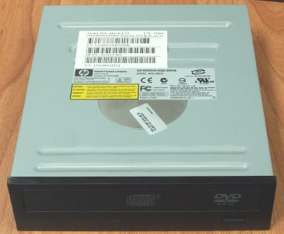 HP 419497-001 48X SATA CD-RW/DVD-ROM combo drive - Half height drive with Carbon Black faceplate by HP