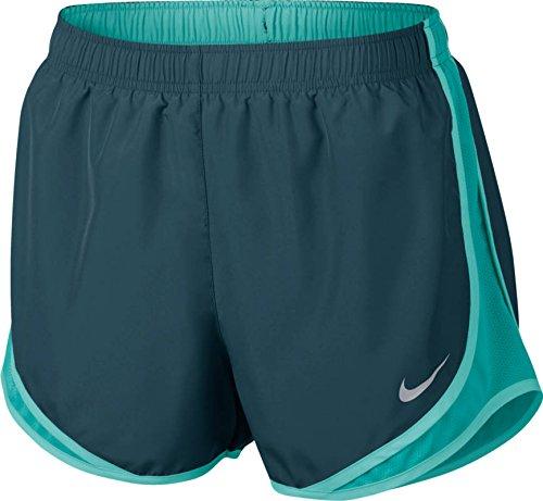 ntrast Trim Running Shorts Blue S ()
