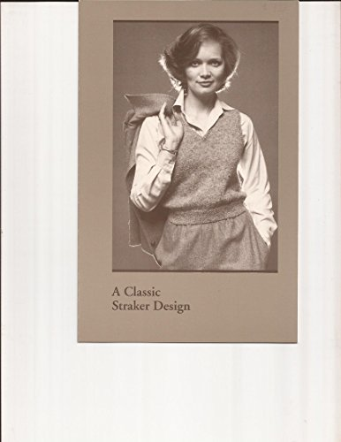 (Basic V-Neck Vest - A Classic Straker Design Knitting Pattern 741-S)
