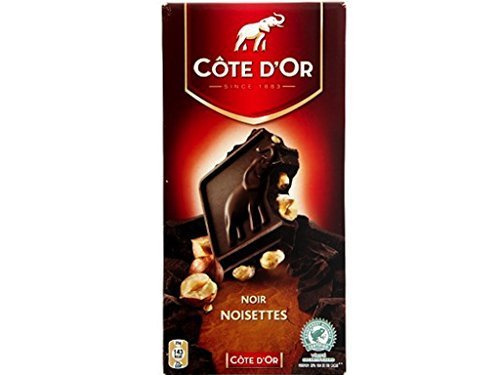 Cote Dor Belgian Dark Chocolate With Whole Hazelnuts 7 Oz By Cote Dor