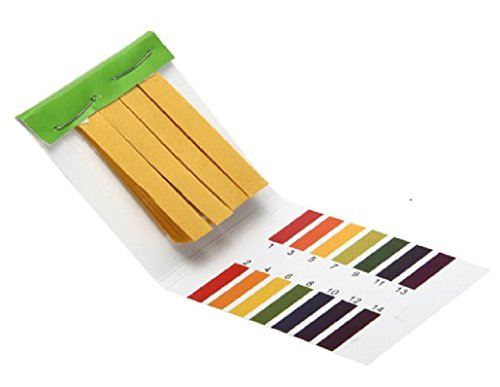 PHRite (2 Packs) PH 1-14 Test Paper Litmus Strips Tester, 80pcs Per Pack