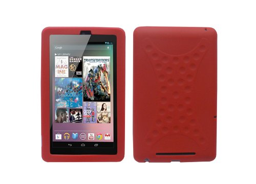 iShoppingdeals - for ASUS Google Nexus 7 Tablet Soft Silicone Skin Cover Case, - Tablet Inch Nexus 7 Case