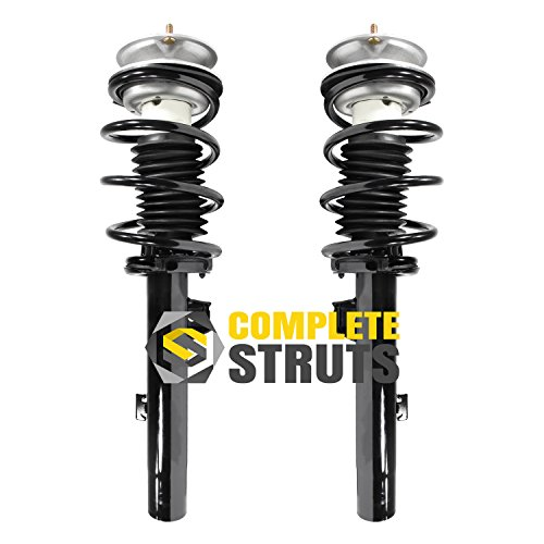 (Front Quick Complete Struts & Coil Spring Assemblies Compatible with 2006 BMW 325i E90)