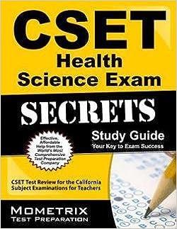 Cset health science subtest ii (179): practice & study guide.