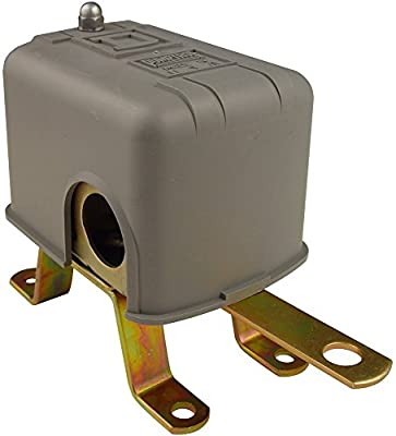 Square D 9036 Commercial Open Tank Float Switch, NEMA 1, Contacts Close on Rise