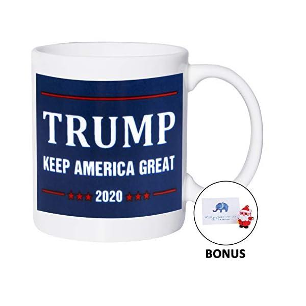 "NEW President Donald  Trump ""TRUMP AMERICA"" Coffee Cup Mug"