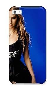 Hot Design Premium TSHnjCk1844nPvhL Tpu Case Cover Iphone 5c Protection Case(avril Lavigne In Balck)