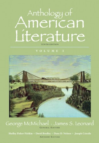 Anthology of American Literature, Volume I (10th Edition)