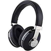 Bluetooth Headphones Over Ear,Meesport Music Wireless Headset with Microphone Hi-Fi Deep Bass Wireless Headsets Comfortable Protein Ear Cups 24 Hours Playtime for Travel Work TV Computer