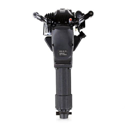 2-Takt Benzinmotor, luftgek/ühlt, 700-1500 Schl/äge//Min., 20-55J, inkl. 2 Mei/ßel und Zubeh/ör, Seilzugstart EBERTH 2,5 PS Benzin Abbruchhammer Profi-Set
