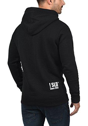 Forro Suave Para Sudadera Beno Al Hoodie solid Hombre Black 9000 Capucha Polar Tacto Con Suéter wavp55Yq8n