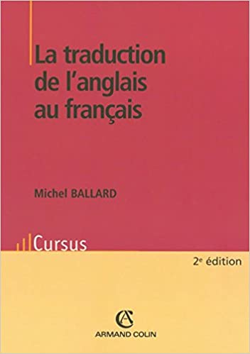 Amazon Fr La Traduction De L Anglais Au Francais Michel