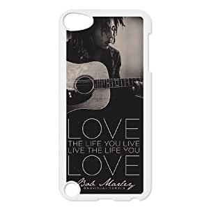 Unique Design Personalized Phone Case for Ipod Touch 5 - Bob Marley Cover Case JZQ-916442