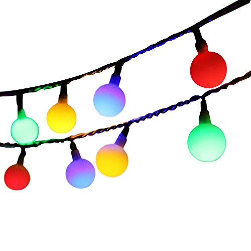 Globe String Light,Dailyart LED Starry Light Fairy Light for Garden,Wedding,Xmas Party (WW, Battery-powered, 13feet/4meters)