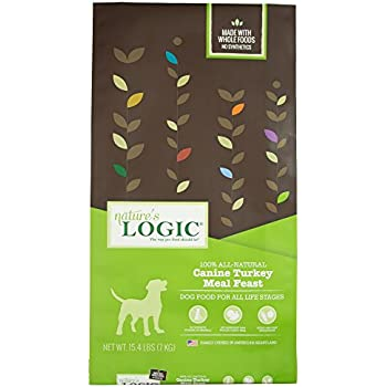 NatureS Logic Canine Turkey Meal Feast, 15.4Lb