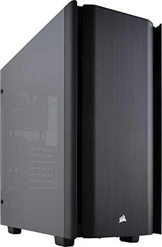 CORSAIR Obsidian 500D Mid-Tower Case, Smoked Tempered Glass, Aluminum Trim