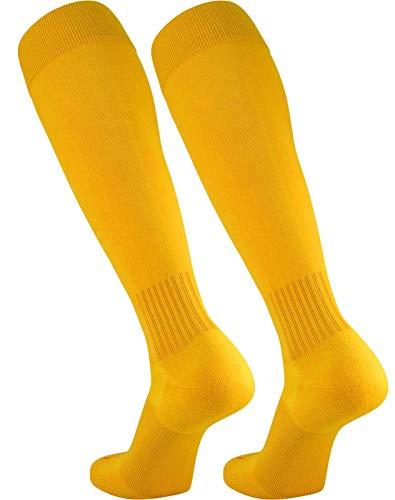 - TCK Elite Finale Soccer Socks (Gold, Medium)