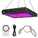 1200W LED Grow Light, Plant Grow Lamp with Timer, Double Chips Full Spectrum with UV and IR for Greenhouse Indoor Plant Veg and Flower (AGLEX) Review