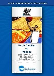 1993 NCAA(r) Division I Men's Basketball National Semi-Final - North Carolina vs. Kansas