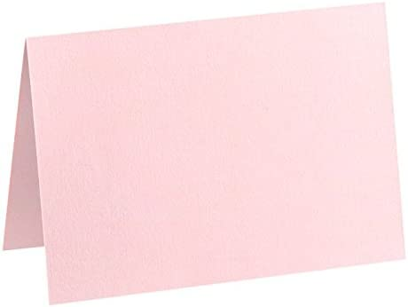 Invitation Inserts Business Correspondence 500 Qty. and more! Cards Gifts | Perfect for Personal Stationery 634SQFLT-14-500 Candy Pink 6 3//4 x 6 3//4 Square Flat Card