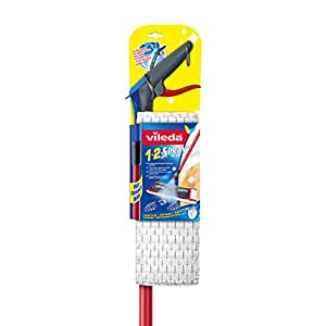 Vileda 133346 1-2 Spray - Mopa para el suelo con tanque pulverizador en el palo