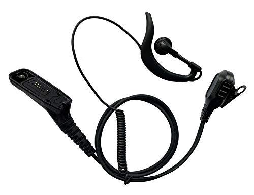 Earpiece and Microphone Headset for Motorola APX 4000 APX 6000 APX 7000 APX 7000xe APX 8000 XPR 6300 XPR 6350 XPR 6550 XPR 6580 XPR 7550 Two-Way Radios