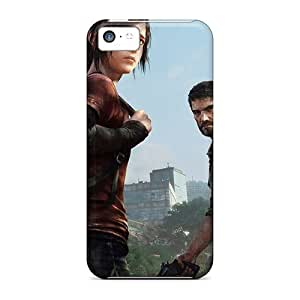 MMZ DIY PHONE CASEAJI4685Rcgf Snap On Case Cover Skin For ipod touch 5(the Last Of Us Ellie And Joel)