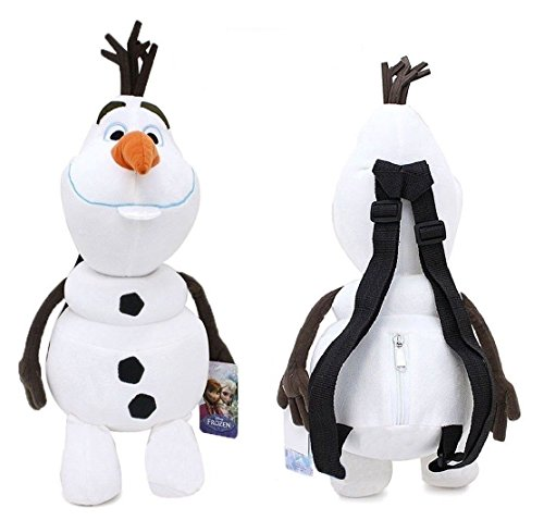 [Disney Frozen Olaf Plush Doll Backpack Snow Man Costume Bag Elsa Anna Friend] (Anna Costume Ideas)